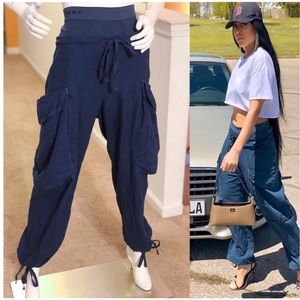 High waisted baggy pants by Deha